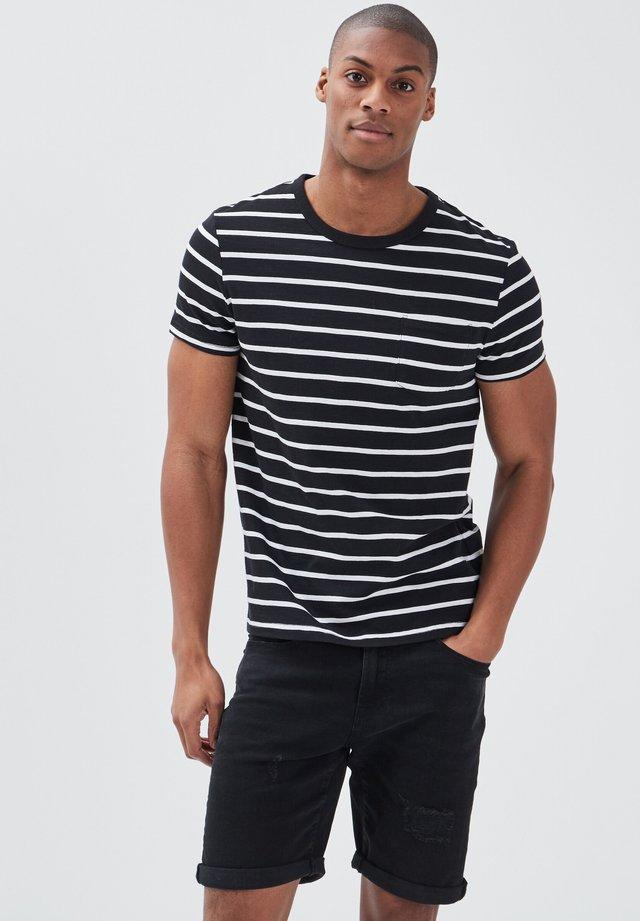 T-shirt print - noir