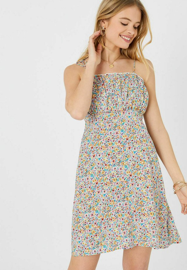 DITSY FLORAL RUCHED - Kjole - brights multi