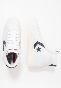 Converse - PRO LEATHER - High-top trainers - white/obsidian/egret - 1