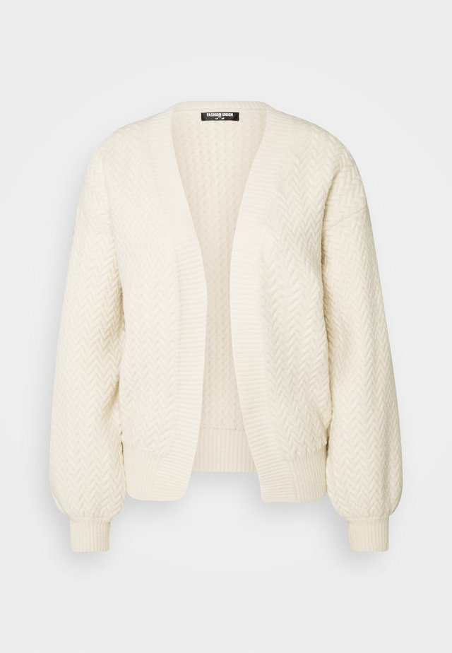 SHAY - Strikjakke /Cardigans - cream
