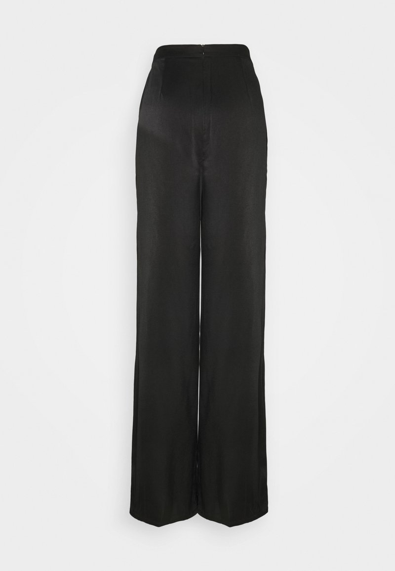 Glamorous Tall - LADIES TROUSERS  - Trousers - black sateen