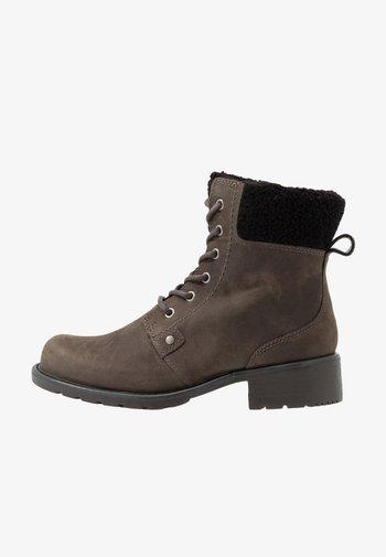 ORINOCO DUSK - Šněrovací kotníkové boty - dark grey