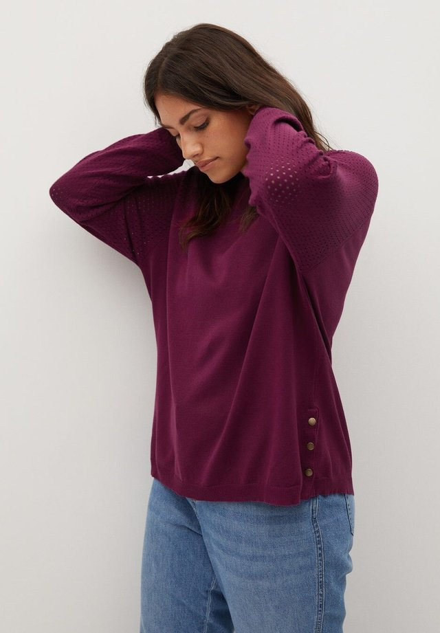 SNAP - Pullover - wijnrood