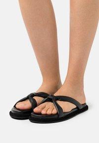 Filippa K - ALMA SOFT  - Pantofle - black - 0