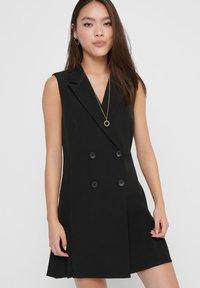 ONLY - Shirt dress - black - 3