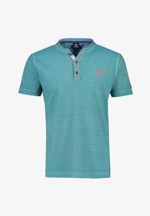FINELINER SERAFINO - Print T-shirt - turquoise