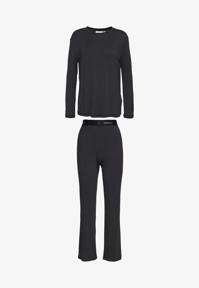 Chalmers - FRANKIE SLEEP GRAPHITE SET - Pyjamas - graphite