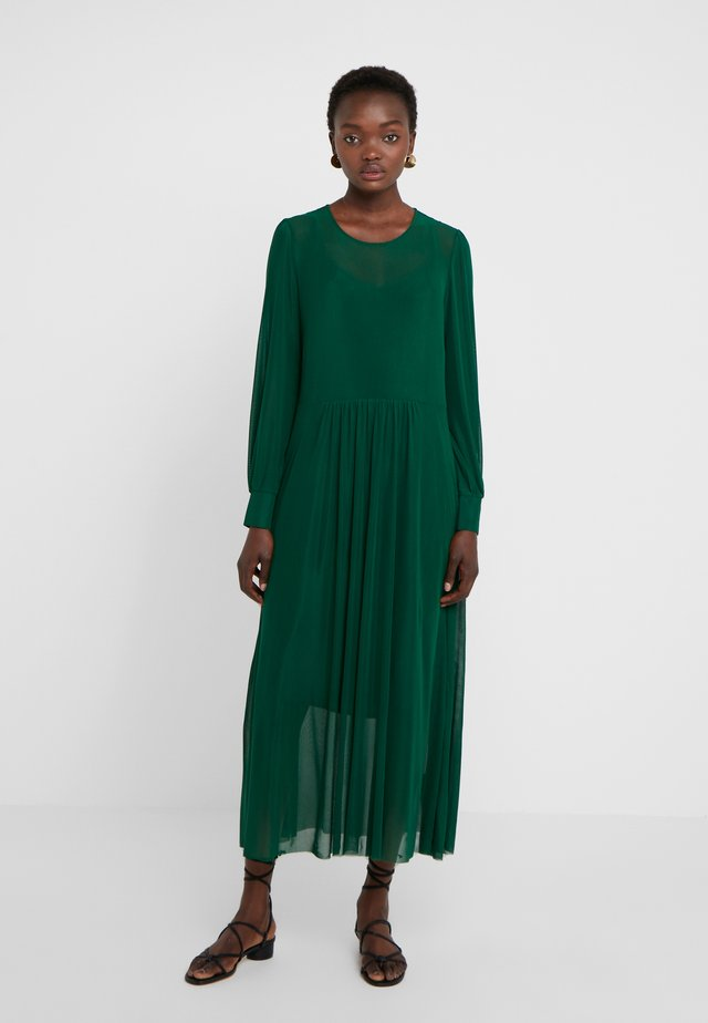 THORA LUCIA DRESS - Maxi dress - dark forest