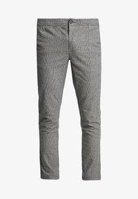 grey check