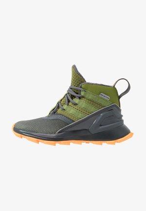 RAPIDARUN ATR - Walking boots - grey six/tech olive/flash orange