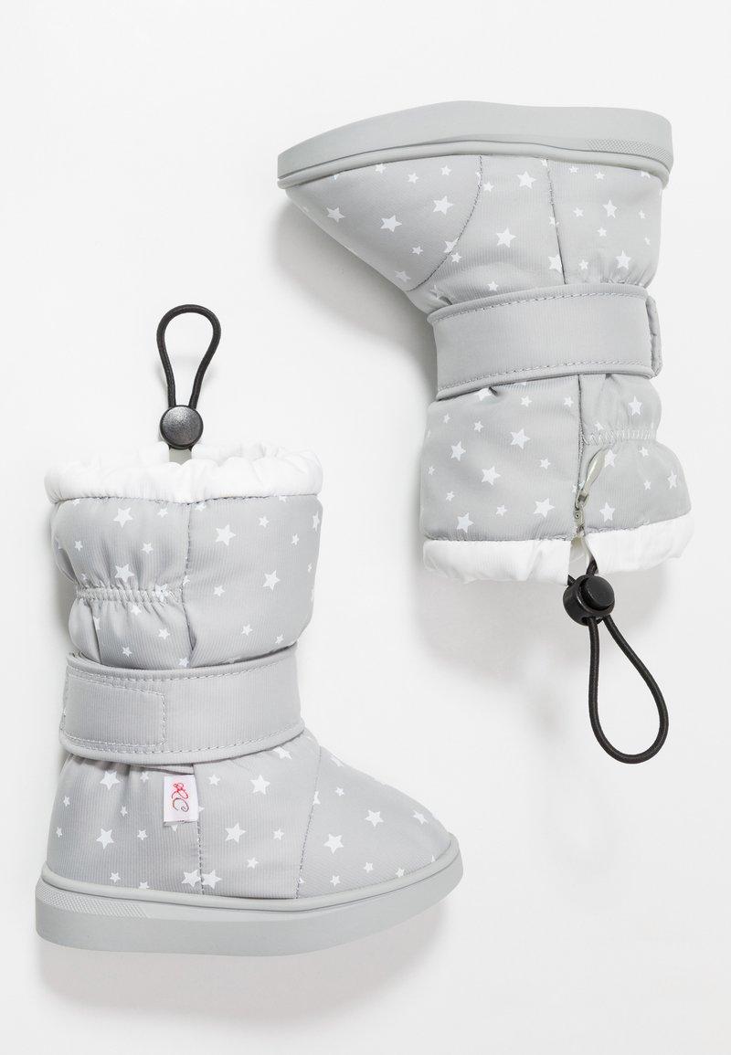 Rose et Chocolat - STARS - Botas para la nieve - grey