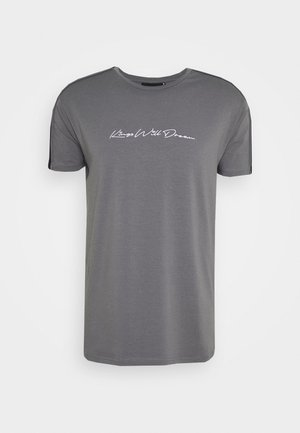 MLORTON - T-shirt imprimé - charcoal
