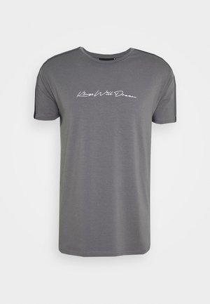 MLORTON - T-shirt print - charcoal