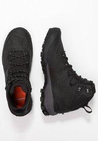 Mammut - DUCAN PRO HIGH GTX MEN - Winter boots - black/titanium - 1