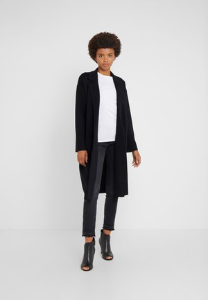 RORY OPEN - Strickjacke - black
