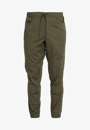 NOTION PANTS - Kangashousut - sergeant