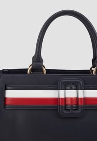 Tommy Hilfiger - CHIC SATCHEL - Handbag - blue - 4