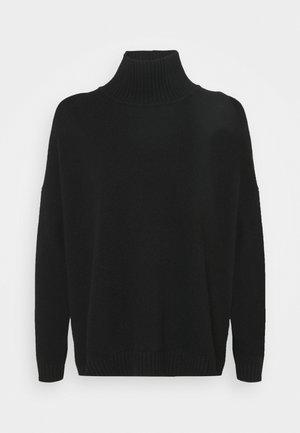 TONDO - Sweter - black