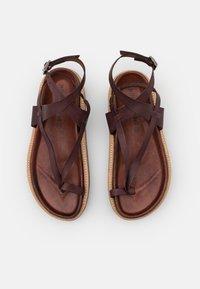 Jeffrey Campbell - ESTRELLA - T-bar sandals - dark brown - 5