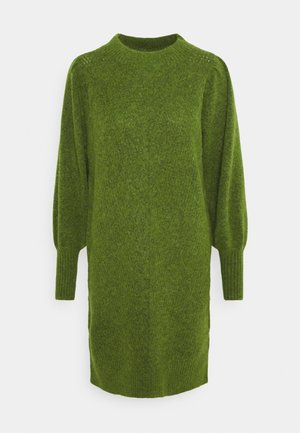 SLFLINNA DRESS O-NECK - Jumper dress - twist of lime