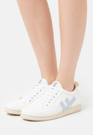 VEGAN ROLAND  - Trainers - white/blue/ivory