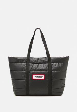 ORIGINAL PUFFER TOTE UNISEX - Shoppingveske - black/red