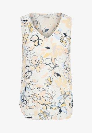 KAJULIE  - Blouse - chalk / golden haze flower