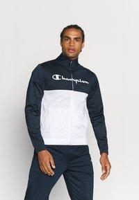 Champion - TRACKSUIT - Träningsset - dark blue - 3