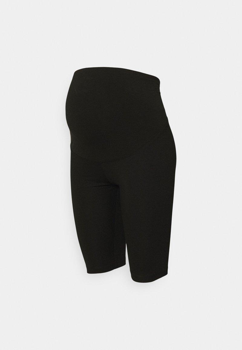 Lindex - BIKERS MOM LENA - Shorts - black