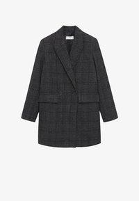 Mango - DALI - Short coat - grijs - 7