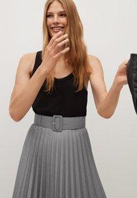 Mango - LADY - A-line skirt - grau - 3
