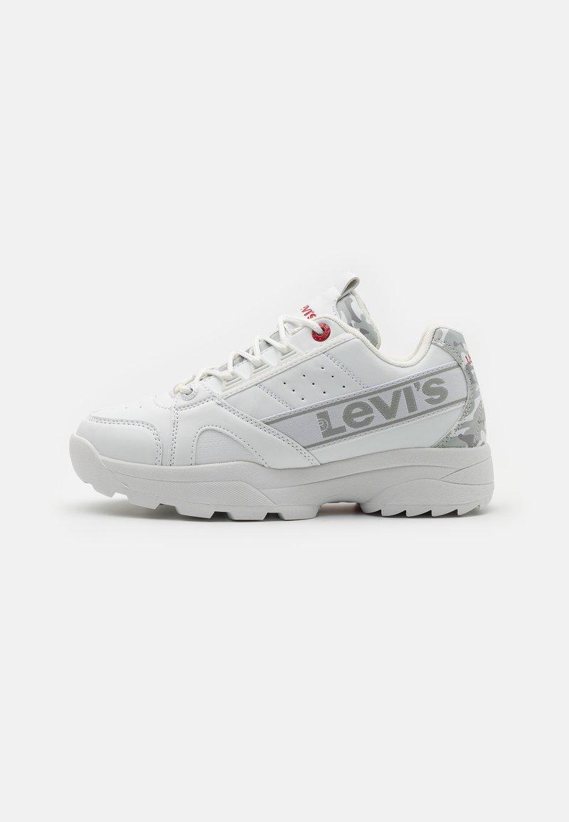 Levi's® - SOHO UNISEX - Trainers - white/light grey