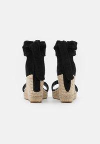 Fabienne Chapot - SELENE WEDGE - Sandály na platformě - black - 3