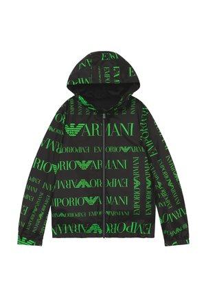 BLOUSON - Chaqueta de entretiempo - logo verde