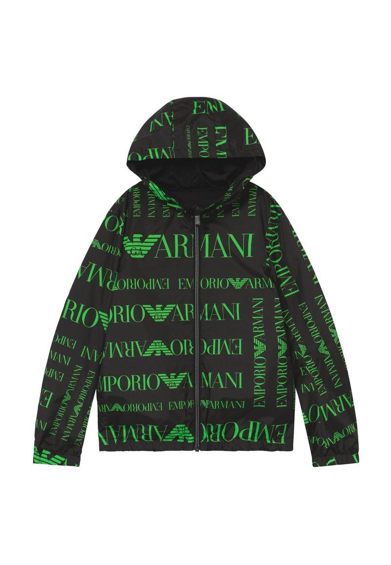 Emporio Armani - BLOUSON - Välikausitakki - logo verde