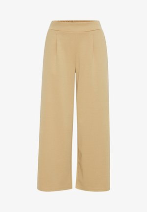 IHKATE WIDE - Trousers - tan