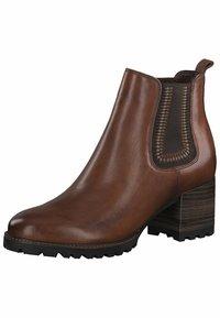 Tamaris Pure Relax - Ankle boots - cognac       # - 2