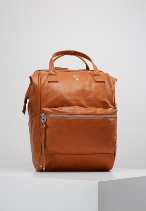 TOTE BACKPACK VEGAN LARGE - Rucksack - camel