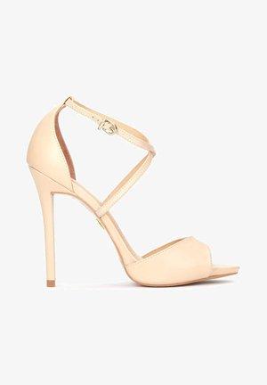 TERRY - High heeled sandals - beige