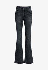 WE Fashion - Flared Jeans - black - 0