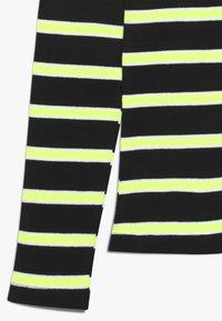 Grunt - ANIKA TEE - Longsleeve - black/neon green - 2