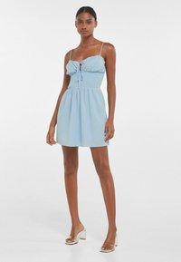 Bershka - Day dress - light blue - 1