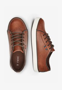 Next - TAN LACE-UP SHOES (OLDER) - Trainers - brown - 1