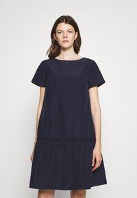 WEEKEND MaxMara - GARZA - Day dress - blue - 0