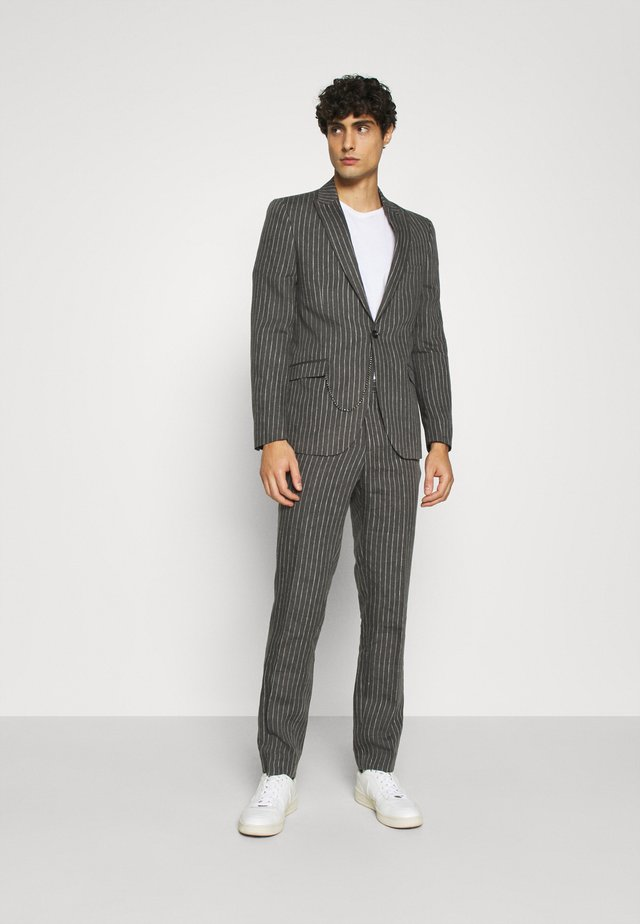 BISHAM SUIT - Dress - charcoal
