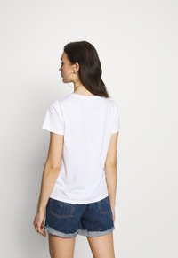 Noisy May - NMNATE SIGNS - T-shirt con stampa - bright white - 2