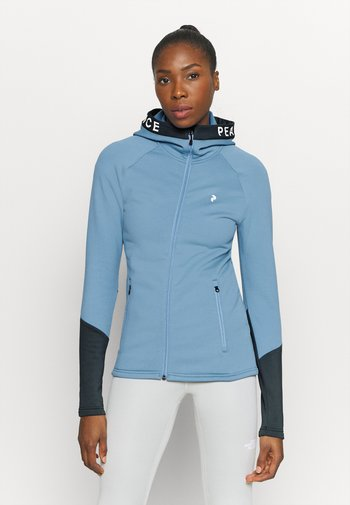RIDER ZIP HOOD - Zip-up hoodie - blue elevation