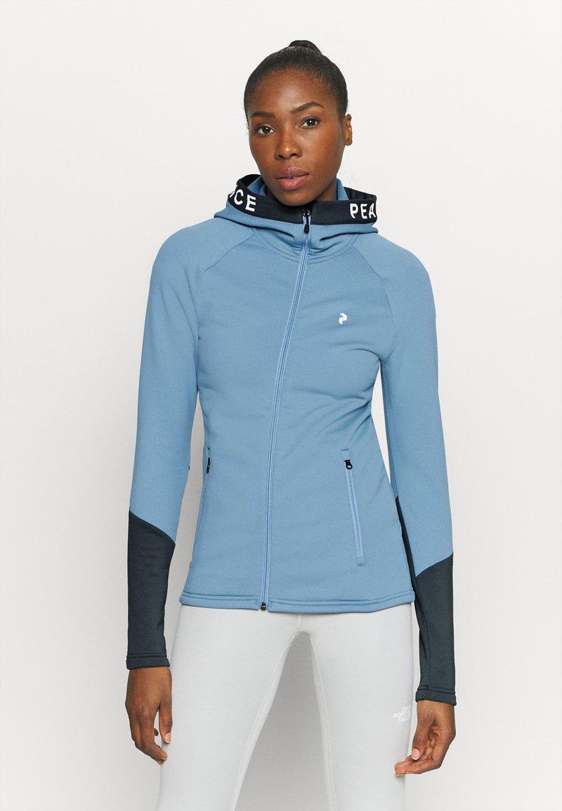Peak Performance - RIDER ZIP HOOD - Zip-up hoodie - blue elevation