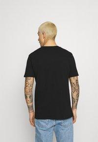 274 - SKULL ROSE TEE - Print T-shirt - black - 2