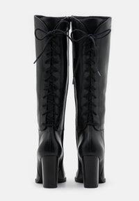 San Marina - EGO - Šněrovací vysoké boty - noir - 3